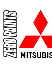 Zero Paints: Paint - Mitsubishi Steel Silver Metallic  - Code: A34 - 60ml - for Airbrush
