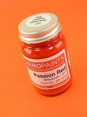 Zero Paints: Paint - Mitsubishi Passion Red TME Evo  - Code: R71 - 60ml - for Airbrush