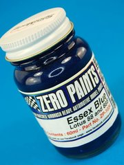 Zero Paints: Pintura - Lotus Essex 88 and 88B : Azul metalizado - Blue Metallic - 60ml - para Aerógrafo