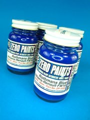 Zero Paints: Paint - Blue - Rothmans F1 Blue FW16 - 60ml - for Airbrush