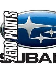 Zero Paints: Paint - Subaru Premium Silver Metallic  - Code: 01G - for Airbrush