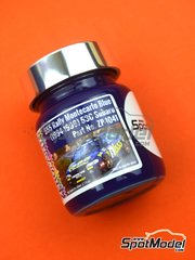 Zero Paints: Paint - Subaru 555 Rally Montecarlo Blue - Code: 53C - 60ml - for Airbrush