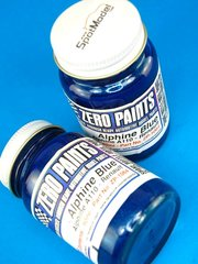 Zero Paints: Paint - Alpine Renault Blue - 60ml - for Airbrush