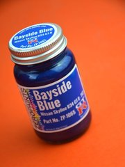 Zero Paints: Paint - Nissan Bayside Blue  - Code: TV2 - 60ml - for Airbrush
