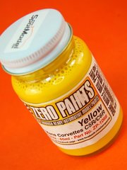 Zero Paints: Paint - Corvette CR5 - CR6 - Yellow - 60ml - for Airbrush