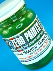 Zero Paints: Paint - Green - Lotus Martini - 60ml - for Airbrush