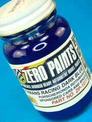 Zero Paints: Pintura - Porsche Rothmans Racing Dark Blue - Azul Oscuro - 1 x 60ml - para Aerógrafo