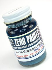 Zero Paints: Paint - Cobra Guardsman Blue - 60ml - for Fujimi kit FJ12089, or Revell kit REV07367