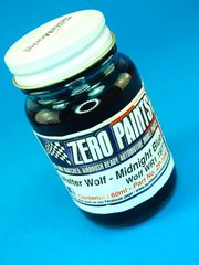 Zero Paints: Pintura - Walter Wolf Racing F1 Midnight Blue - Azul oscuro - 1 x 60ml - para Aerógrafo
