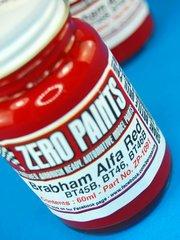 Zero Paints: Pintura - Brabham Alfa BT45, BT45B BT46 - Red - Rojo - 1 x 60ml - para Aerógrafo