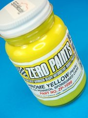 Zero Paints: Pintura - Amarillo metalizado - Pennzoil Chrome Yellow - 1 x 60ml - para Aerógrafo