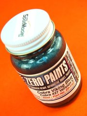 Zero Paints: Paint - Cobra Viking - Blue - 60ml - for Fujimi kit FJ12089, or Revell kit REV07367