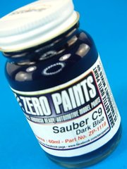 Zero Paints: Paint - Sauber C9 - Dark Blue - 60ml - for Hasegawa reference 20273, or Tamiya reference TAM24310