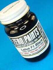 Zero Paints: Paint - Lotus F1 Black - 60ml - for Airbrush