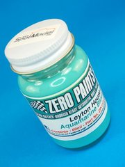 Zero Paints: Paint - Leyton House Aquamarine Blue - 1 x 60ml - for Airbrush