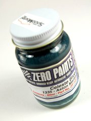 Zero Paints: Paint - Aston Martin Celeste Blue  - Code: 1335 - 60ml - for Airbrush