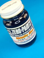 Zero Paints: Pintura - Azul metalizado - RB STR4 Metallic Blue - 1 x 60ml - para Aerógrafo