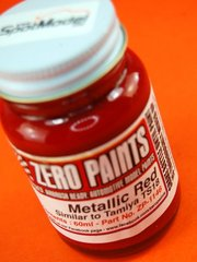 Zero Paints: Paint - Metallic Red - Similar to TS-18 - 1 x 60ml - for Airbrush