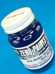 Zero Paints: Pintura - Rob Walker Racing Dark Blue - Azul oscuro - 1 x 60ml - para Aerógrafo