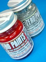 Zero Paints: Paints set - Ferrari F60 F1 2009 - Metallic red - 2 x 30ml - for Airbrush