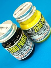 Zero Paints: Paints set - Yamaha YZR-M1 Monster Tech 3 - Black + Yellow - 2x30ml - for Airbrush