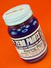 Zero Paints: Paint - Racing Blue - Similar to TS-51- 60ml - for Airbrush