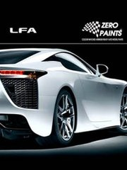 Zero Paints: Paints set - Lexus LFA Pearl Blue - Code: 8V8 - 2x30ml - for Tamiya references TAM24319 and TAM24325