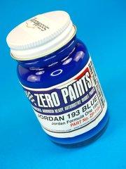Zero Paints: Pintura - Jordan 193 - Blue - Azul - 1 x 60ml - para Aerógrafo
