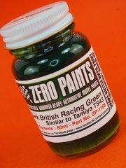 Zero Paints: Pintura - Verde inglés oscuro - Dark British Racing Green - Similar a TS-43 - 1 x 60ml - para Aerógrafo