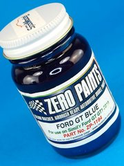 Zero Paints: Paint - Ford GT GT1 2010 Pescarolo - Blue - 1 x 60ml - for Airbrush