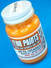 Zero Paints: Paint - March Surtees BETA - Orange - 1 x 60ml - for Airbrush
