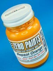 Zero Paints: Paint - Repsol Orange - 1 x 60ml - for Airbrush