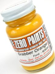 Zero Paints: Pintura - Naranja Ford - Ford Grabber Orange - 1 x 60ml - para Aerógrafo