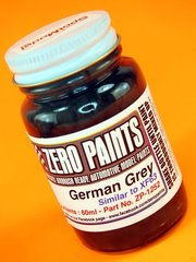 Zero Paints: Paint - German Grey - 60 ml - for Airbrush image