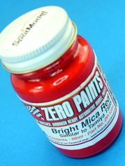 Zero Paints: Paint - Bright Mica Red Paint - Similar to Tamiya TS-85 - 1 x 60ml - for Airbrush