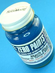 Zero Paints: Paint - Bright Mach Blue - Similar to Tamiya MS4 - 60ml - for Airbrush image