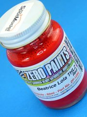 Zero Paints: Paint - Beatrice-Lola THL2 Ford THL2 Red - 60ml - for Airbrush image