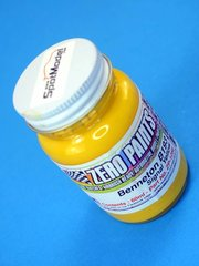 Zero Paints: Paint - Benetton B193 Signal Yellow - 60ml - for Airbrush image
