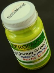 Zero Paints: Paint - Dodge Sublime Pearl Green - 60ml - for Airbrush image