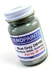 Zero Paints: Paint - Blue Grey Blaugrau for Mercedes-Benz 300SL - Code: DB166 - for airbrush image
