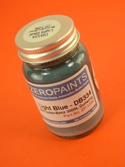 Zero Paints: Paint - Light Blue Hellblau for Mercedes-Benz 300SL - Code: DB334 - for airbrush image