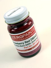 Zero Paints: Paint - Strawberry red Erdbeerrot for Mercedes-Benz 300SL - Code: DB543 - 1 x 60ml - for airbrush