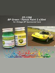 Zero Paints: Paints set - BP Green and Yellow - 2x30ml image