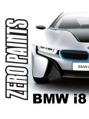 Zero Paints: Paint - Protonic Blue for BMW i8 - 1 x 30ml - for airbrush