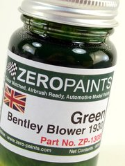 Zero Paints: Paint - Bentley 4.5L Blower Green - 60ml - for Heller reference HELLER-80722, or Revell reference REV07007 image