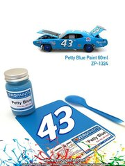 Zero Paints: Paint - Petty Blue - airbrush - 1 x 60ml - for AMT references AMT819 and AMT989