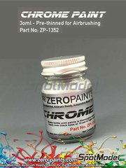 Zero Paints: Pintura - Cromo - Chrome - 30ml