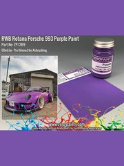 Zero Paints: Paint - RWB Rotana Porsche 993 Purple - 60ml image