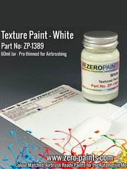 Zero Paints: Paint - White Textured - 60ml