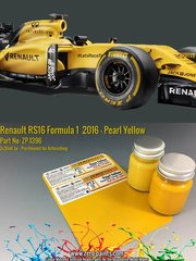 Zero Paints: Paints set - Renault RS16 Formula 1 2016